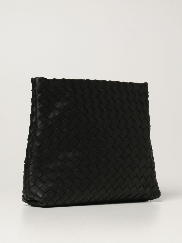 Briefcase Bottega Veneta: Bottega Veneta document holder in woven leather black 3