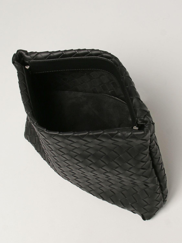 Briefcase Bottega Veneta: Bottega Veneta document holder in woven leather black 5