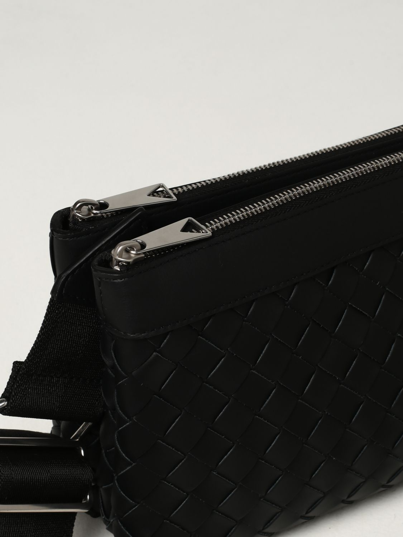 Borsa a tracolla Bottega Veneta: Borsa classic Hidrology Bottega Veneta in pelle intrecciata nero 4
