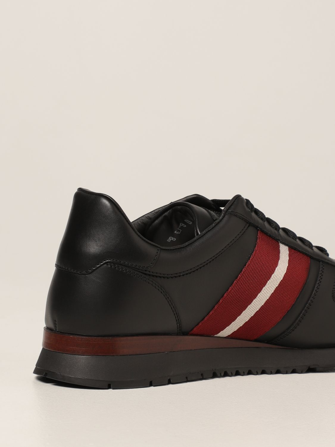 Sneakers Bally: Astel-fo Bally sneakers in leather black 3
