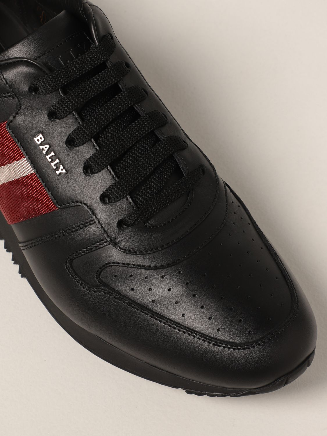 Sneakers Bally: Astel-fo Bally sneakers in leather black 4