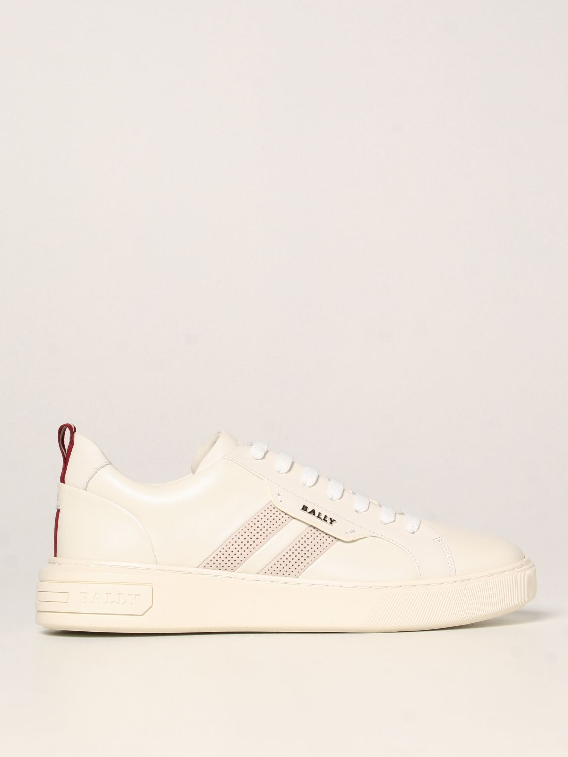 Sneakers Bally: Maxim Bally sneakers in leather white 1