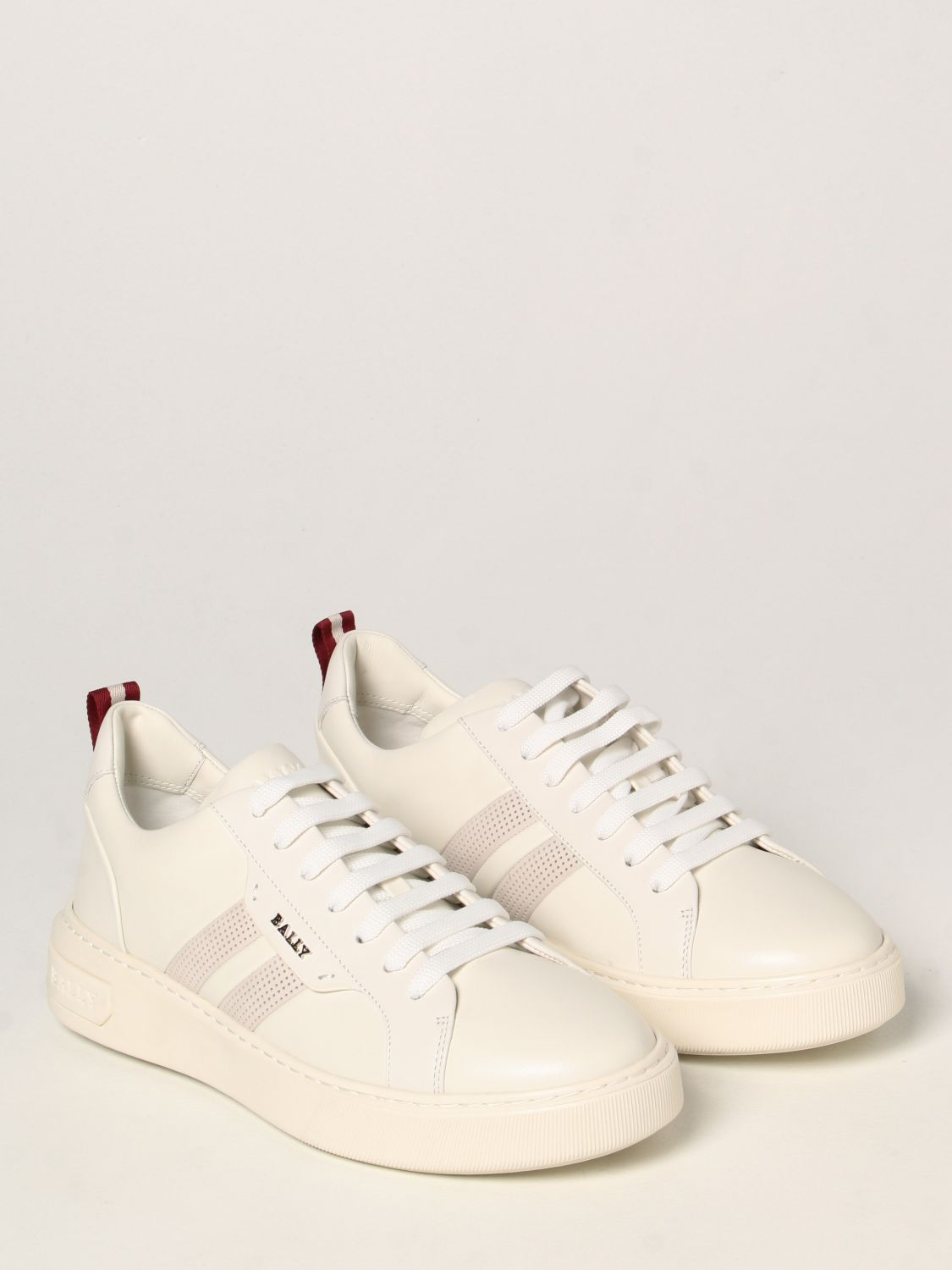 Sneakers Bally: Maxim Bally sneakers in leather white 2