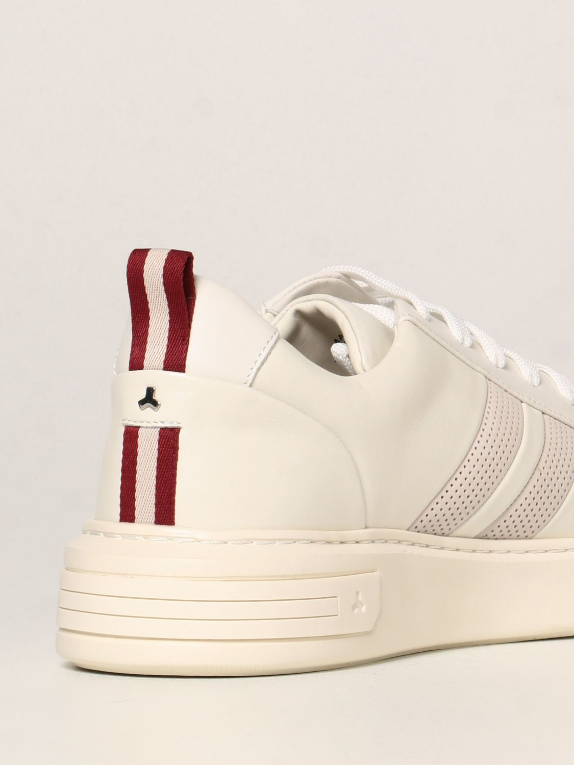 Sneakers Bally: Maxim Bally sneakers in leather white 3