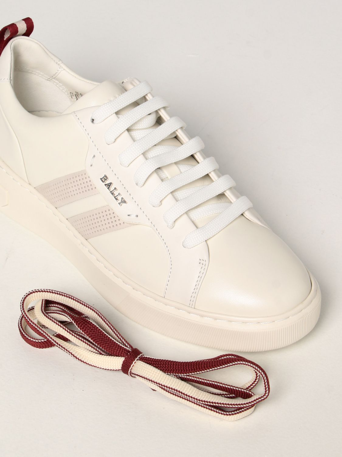 Sneakers Bally: Maxim Bally sneakers in leather white 4