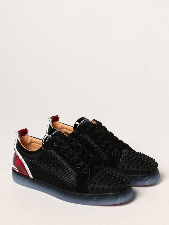 Sneakers Christian Louboutin: Sneakers Fun Viera Christian Louboutin in tessuto nero 2