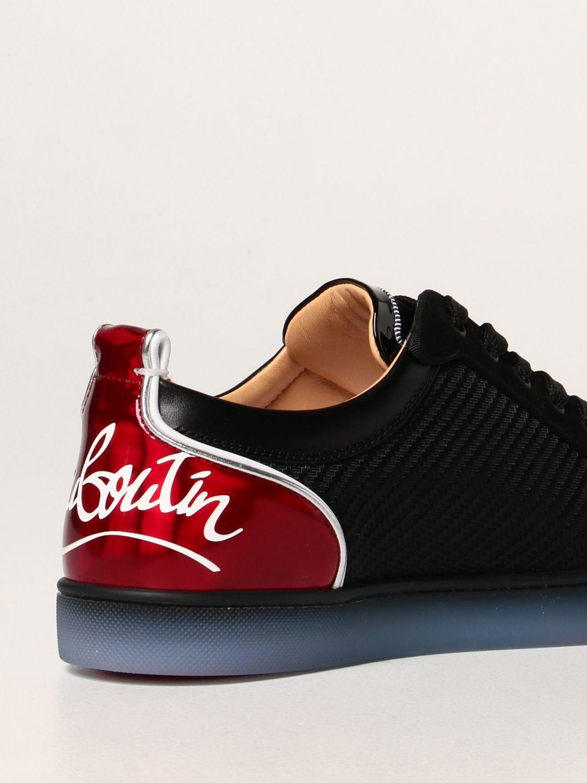 Sneakers Christian Louboutin: Sneakers Fun Viera Christian Louboutin in tessuto nero 3