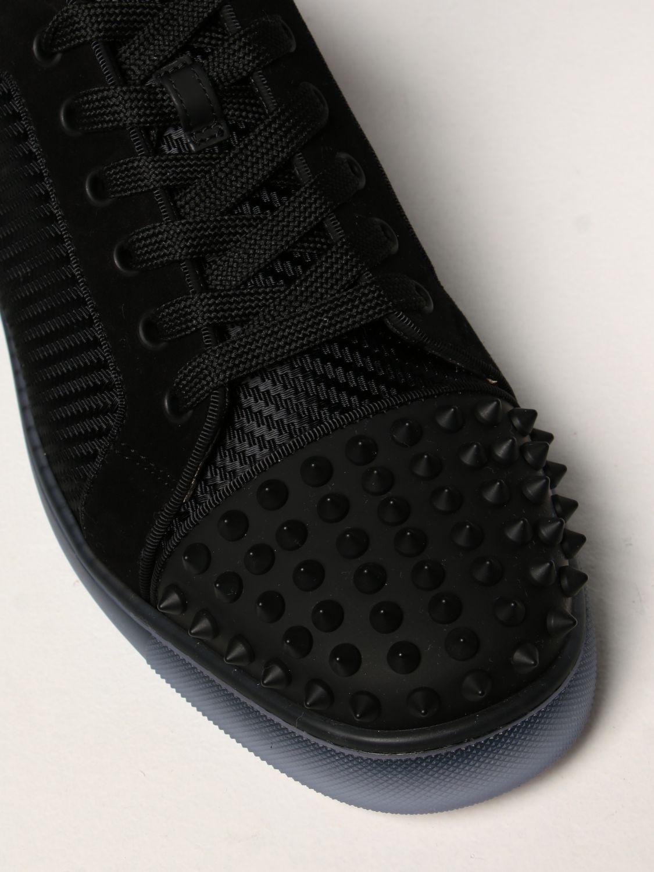 Sneakers Christian Louboutin: Sneakers Fun Viera Christian Louboutin in tessuto nero 4