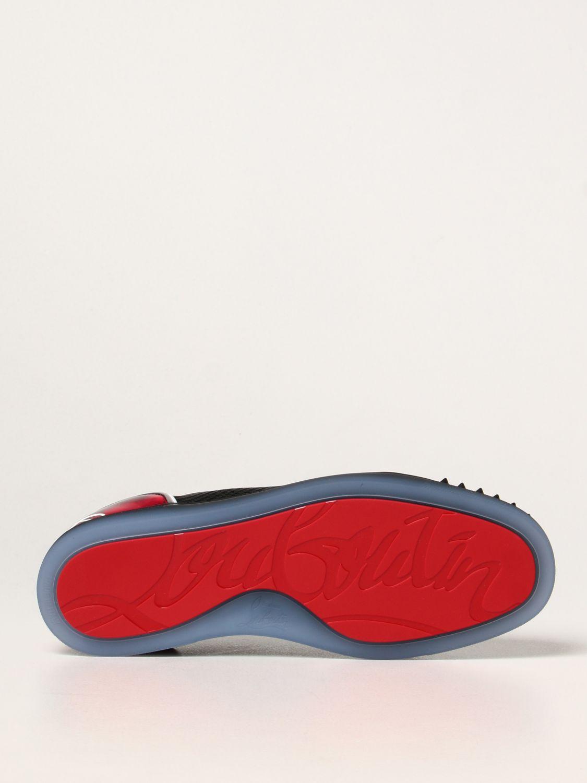 Sneakers Christian Louboutin: Sneakers Fun Viera Christian Louboutin in tessuto nero 5