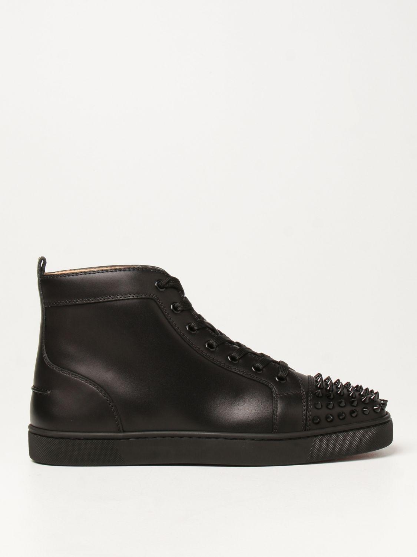Sneakers Christian Louboutin: Sneakers Lou Spikes Christian Louboutin con borchie nero 1