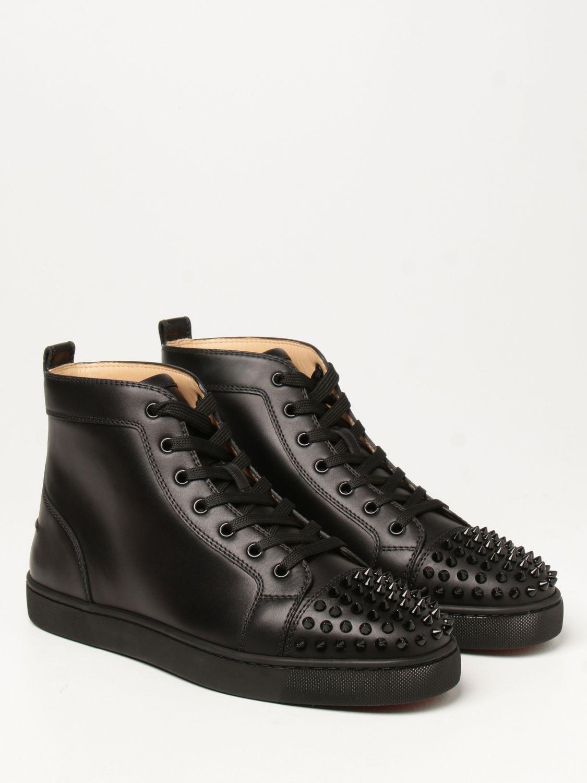Sneakers Christian Louboutin: Sneakers Lou Spikes Christian Louboutin con borchie nero 2