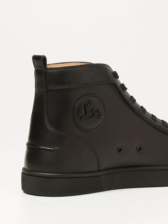 Sneakers Christian Louboutin: Sneakers Lou Spikes Christian Louboutin con borchie nero 3