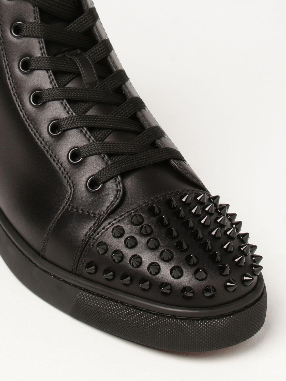 Sneakers Christian Louboutin: Sneakers Lou Spikes Christian Louboutin con borchie nero 4