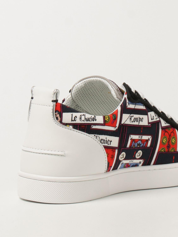 Sneakers Christian Louboutin: Sneakers Louis Junior Spikes Orlato Christian Louboutin nero 3