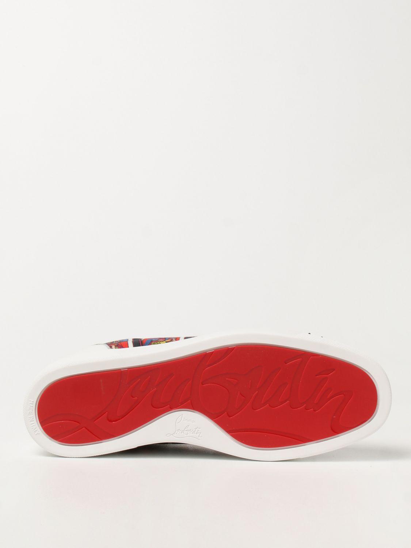 Sneakers Christian Louboutin: Sneakers Louis Junior Spikes Orlato Christian Louboutin nero 5