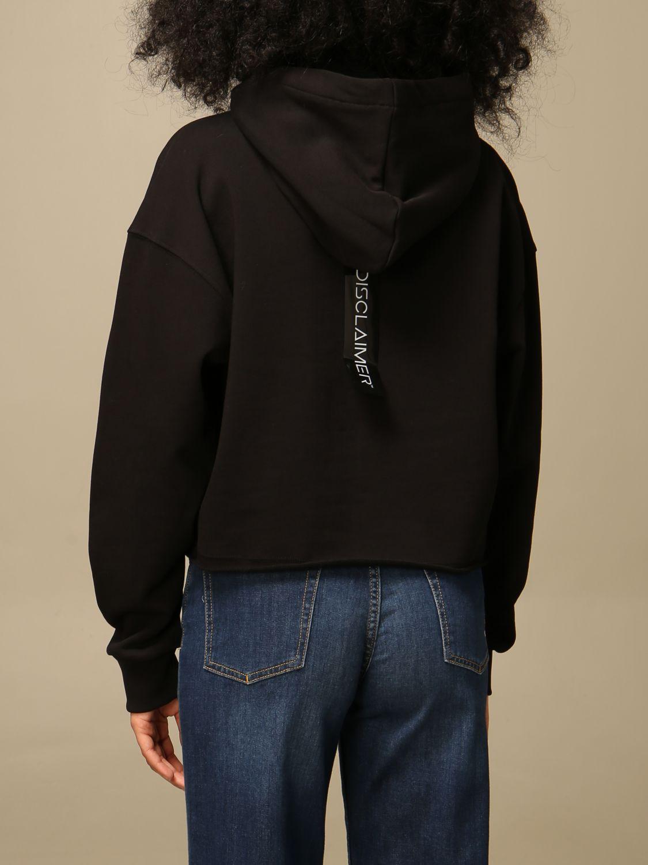 Sweatshirt Disclaimer: Sweatshirt women Dislaimer black 2