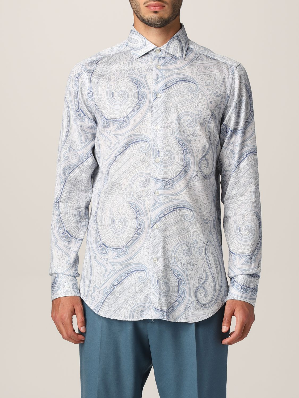 Camisa Etro: Camisa hombre Etro azul claro 1