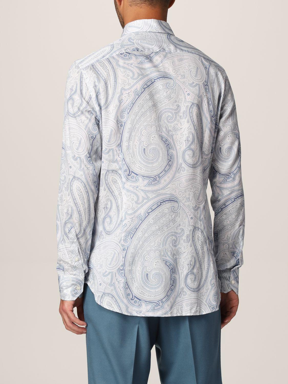 Camisa Etro: Camisa hombre Etro azul claro 3