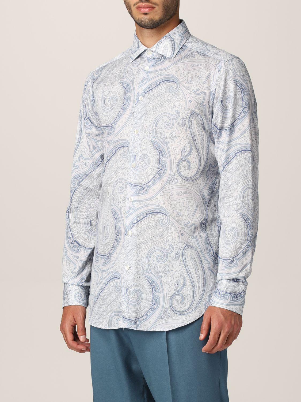 Camisa Etro: Camisa hombre Etro azul claro 4