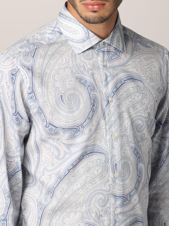 Camisa Etro: Camisa hombre Etro azul claro 5