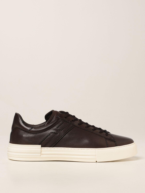 Rebel sneakers fondo cassetta pelle
