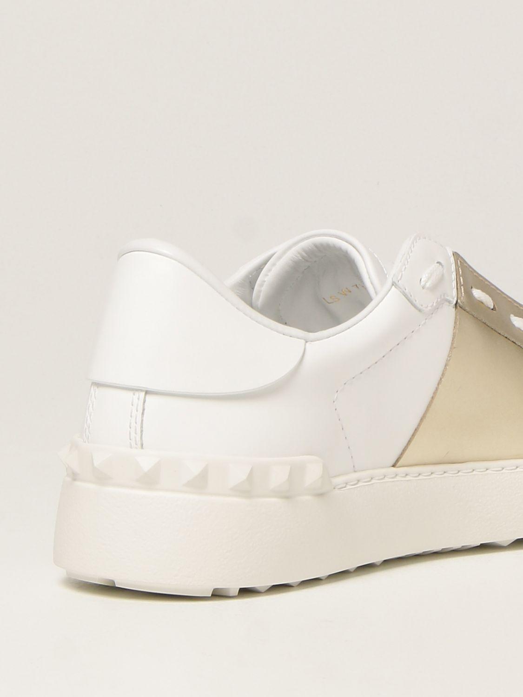 Sneakers Valentino Garavani: Sneakers Open Valentino Garavani in pelle bianco 3