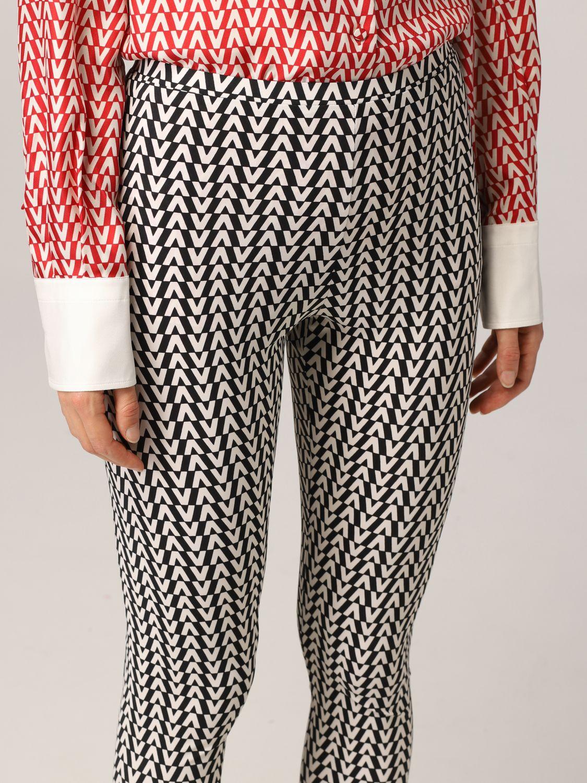 Pantalone Valentino: Leggings Valentino con stampa optical nero 5