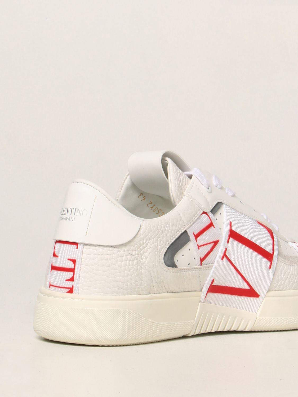 Sneakers Valentino Garavani: Sneakers Valentino Garavani in pelle con logo VLTN bianco 3