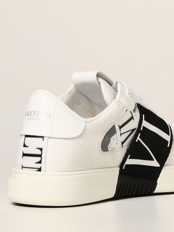 Sneakers Valentino Garavani: Sneakers Valentino Garavani in pelle con logo VLTN bianco 1 3