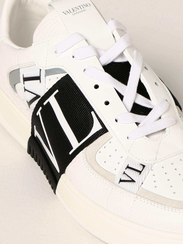 Sneakers Valentino Garavani: Sneakers Valentino Garavani in pelle con logo VLTN bianco 1 4