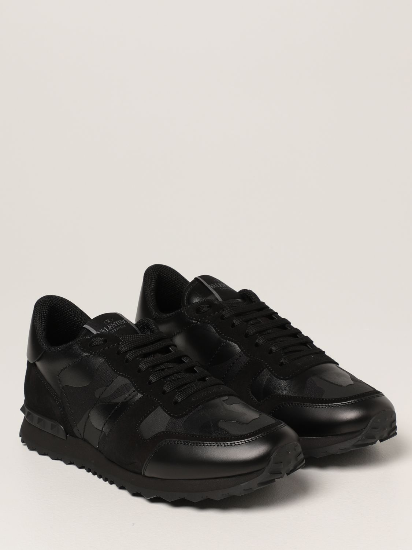 Sneakers Valentino Garavani: Sneakers Rock Runner Valentino Garavani camouflage nero 2
