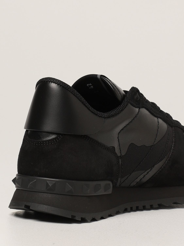 Sneakers Valentino Garavani: Sneakers Rock Runner Valentino Garavani camouflage nero 3