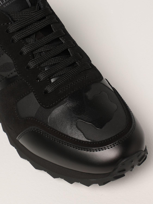 Sneakers Valentino Garavani: Sneakers Rock Runner Valentino Garavani camouflage nero 4