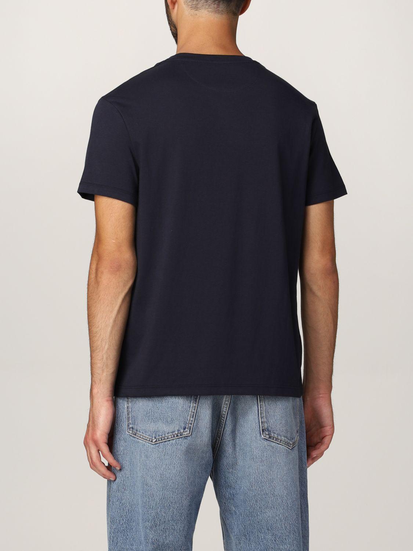 T-shirt Valentino: T-shirt Valentino in cotone con logo blue navy 3