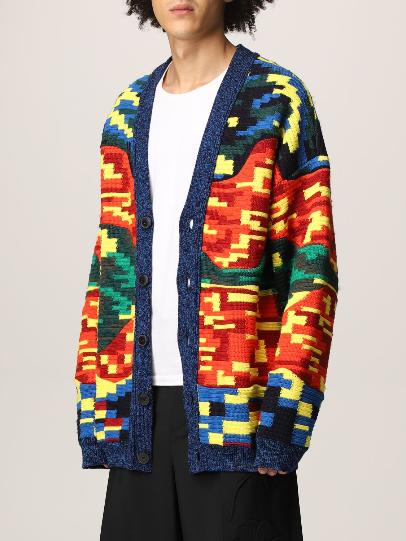 Cardigan Valentino: Cardigan Valentino in lana vergine e cotone multicolor fantasia 4