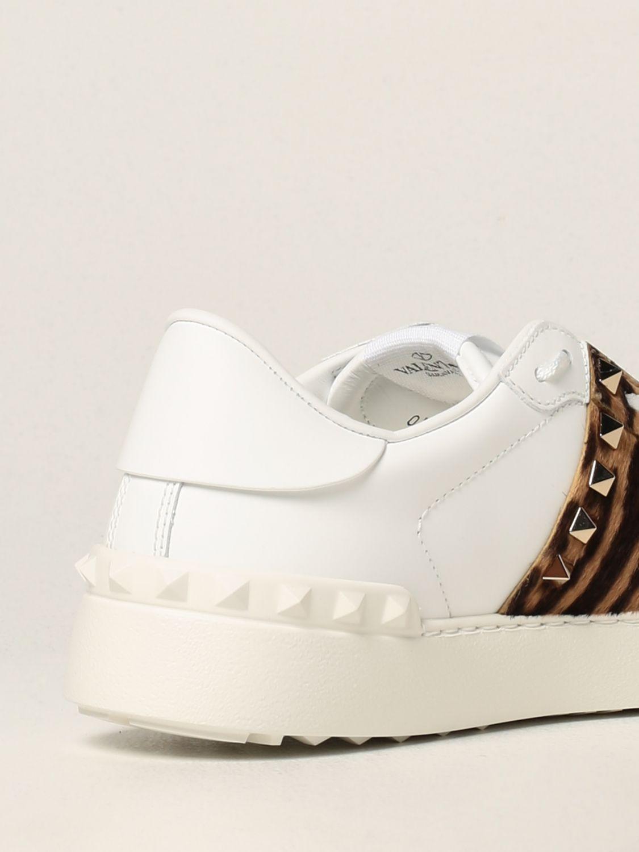 Sneakers Valentino Garavani: Sneakers Rockstud Untitled Valentino Garavani in pelle di vitello bianco 3