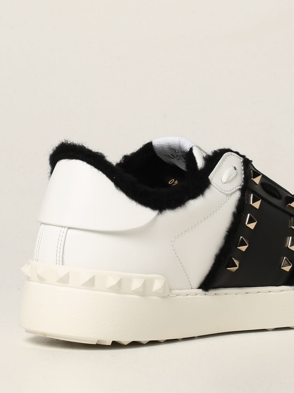 Sneakers Valentino Garavani: Sneakers Rockstud Untitled Valentino Garavani in pelle bianco 3