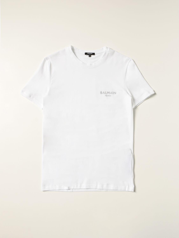 T-shirt Balmain: T-shirt men Balmain white 1