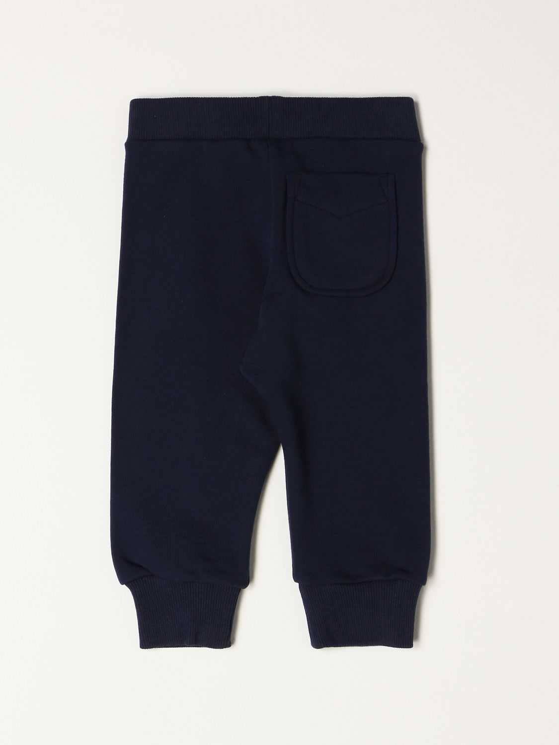 Trousers Diesel: Diesel jogging trousers in cotton with logo blue 2