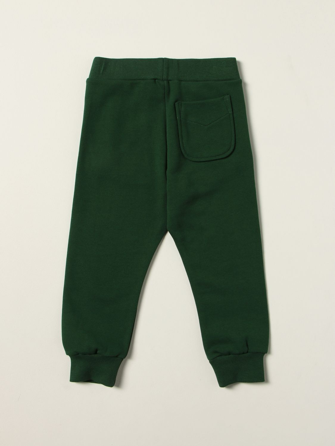 Trousers Diesel: Diesel jogging trousers in cotton with logo green 2
