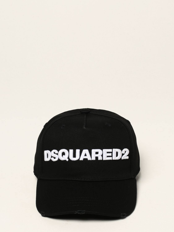 Cappello Dsquared2: Cappello Dsquared2 con logo nero 2