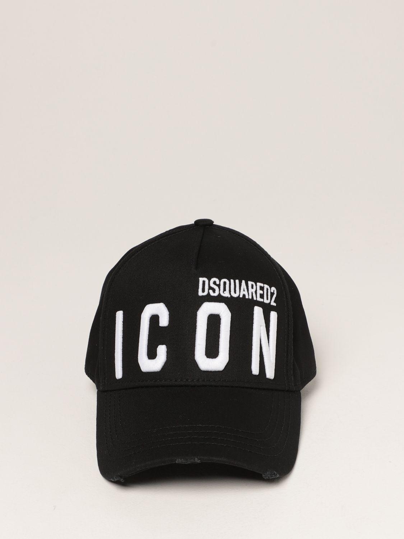 Cappello Dsquared2: Cappello da baseball Icon Dsquared2 nero 2