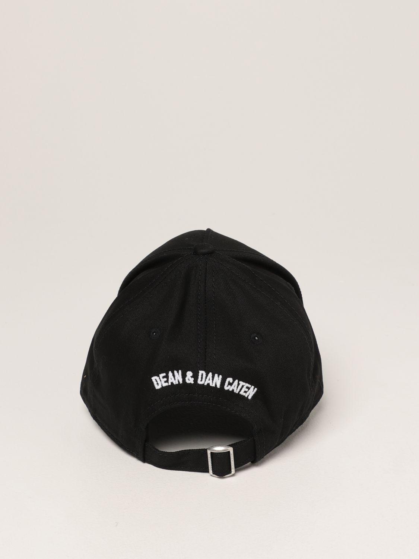 Cappello Dsquared2: Cappello da baseball Icon Dsquared2 nero 3