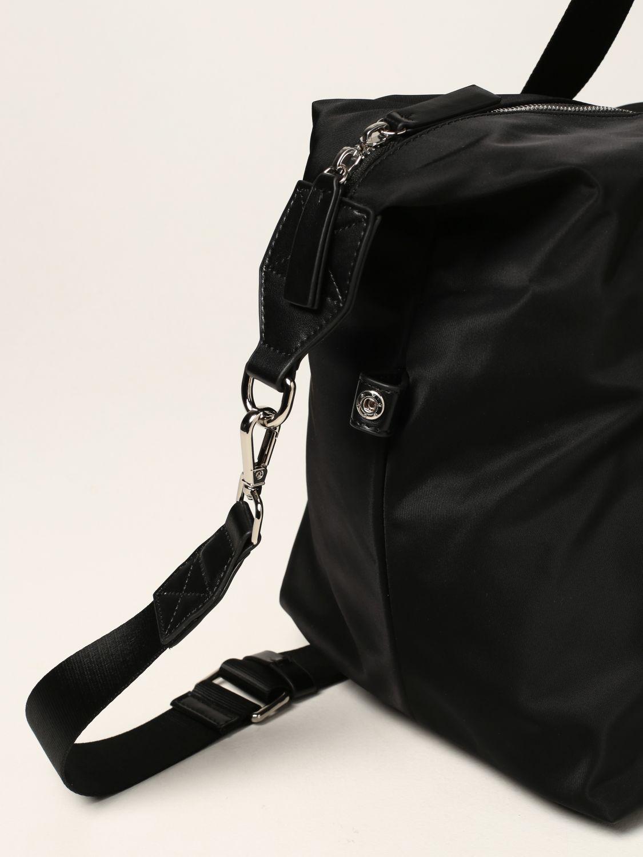 Valigia Dsquared2: Borsone Dsquared2 in nylon con logo Icon nero 4