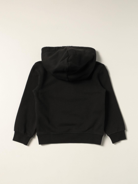 Maglia Dsquared2 Junior: Felpa Dsquared2 Junior in cotone con logo nero 2