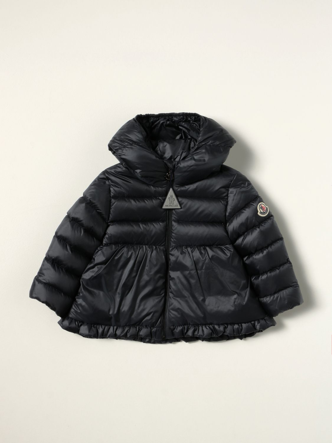 Giacca Moncler: Piumino Odile Moncler in nylon blue 1