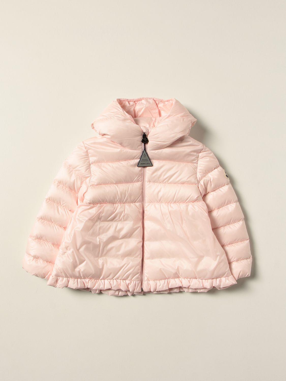 Giacca Moncler: Piumino Odile Moncler in nylon rosa 1