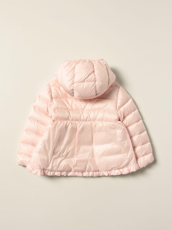 Giacca Moncler: Piumino Odile Moncler in nylon rosa 2