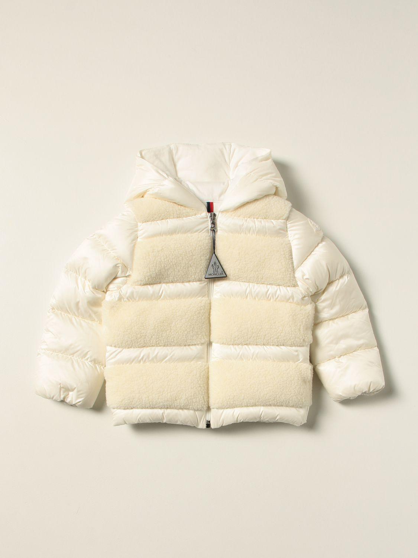 Giacca Moncler: Piumino Gentiane Moncler con inserti orsetto bianco 1