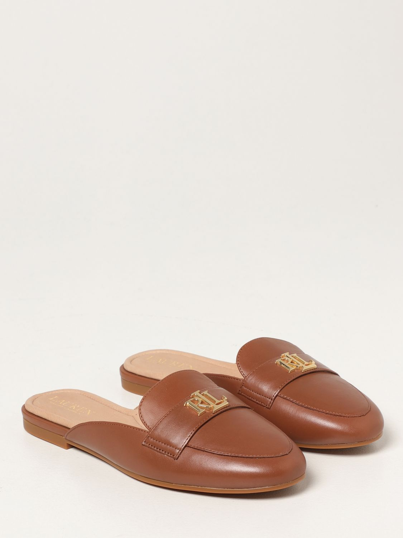 Flat shoes Lauren Ralph Lauren: Lauren Ralph Lauren flat mules in leather leather 2